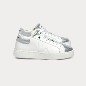 Woman Sneakers CONCEPT WHITE SILVER White WOMAN