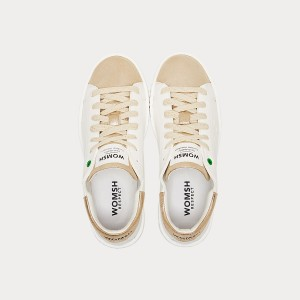 Sneakers Womsh Woman Sneakers CONCEPT WHITE GOLD C190902