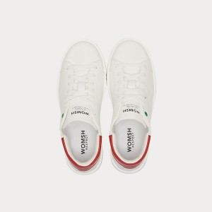 Sneakers Womsh Woman Sneakers CONCEPT WHITE RED C190903