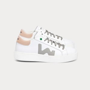 Woman Sneakers CONCEPT WHITE GREY ROSE White WOMAN