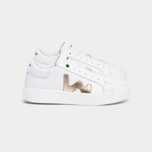 Woman Sneakers CONCEPT WHITE SUMMER COPPER  White WOMAN