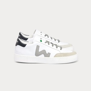 Man Sneakers HECTOR WHITE GREY White MAN