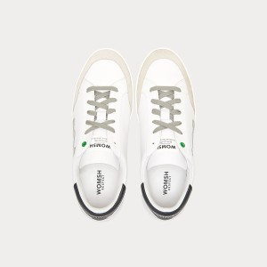 Sneakers Womsh Man Sneakers HECTOR WHITE GREY H190551