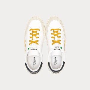 Sneakers Womsh  HECTOR WHITE OCHRE H190554