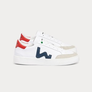 Man Sneakers HECTOR WHITE BLU White MAN