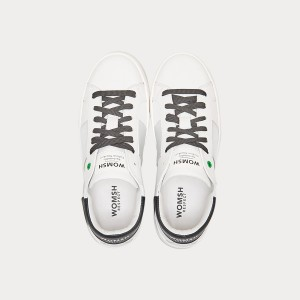 Sneakers Womsh Woman Sneakers KINGSTON WHITE SILVER BLACK  K190602