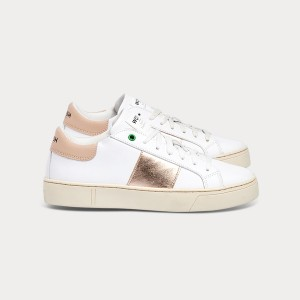 Woman Sneakers KINGSTON WHITE COPPER White WOMAN