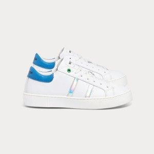 Woman Sneakers KINGSTON WHITE SKY HOLOGRAM White WOMAN
