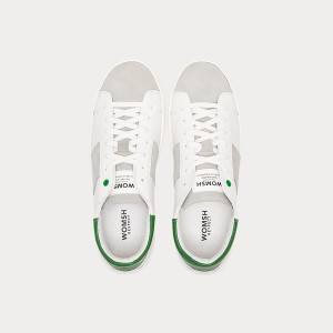 Sneakers Womsh Man Sneakers KINGSTON WHITE GREEN K190652