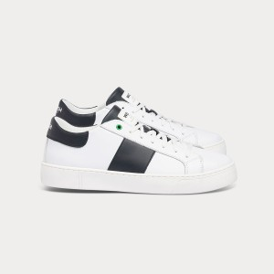 Man Sneakers KINGSTON WHITE BLACK White MAN