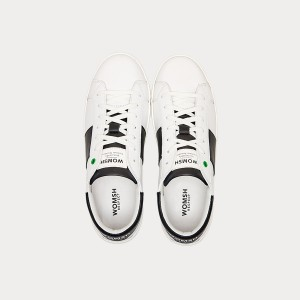 Sneakers Womsh Man Sneakers KINGSTON WHITE BLACK K190653