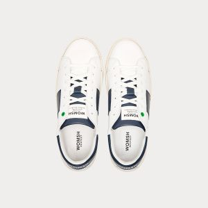 Sneakers Womsh Man Sneakers KINGSTON WHITE BLU K190654