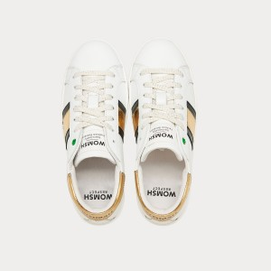 Sneakers Womsh Woman Sneakers KINGSTON WHITE GOLD K290602