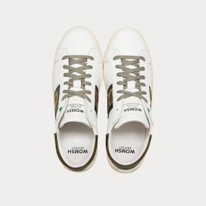 Sneakers Womsh  KINGSTON WHITE CAMO K290653