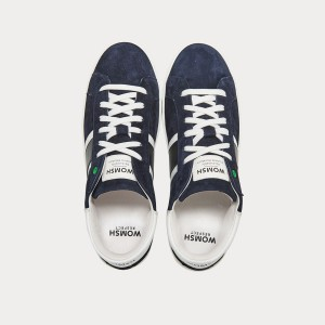 Sneakers Womsh Man Sneakers KINGSTON BLUE WHITE K290655