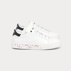 Woman Sneakers SNIK WHITE CHERRY White WOMAN