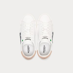 Sneakers Womsh Woman Sneakers SNIK WHITE BLACK ROSE S190202
