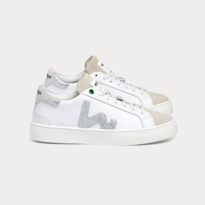 Woman Sneakers SNIK WHITE SILVER White WOMAN