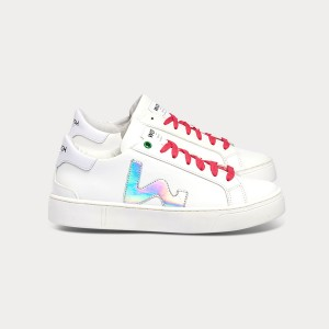 Woman Sneakers SNIK WHITE HOLOGRAM White WOMAN