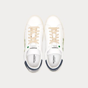Sneakers Womsh Man Sneakers SNIK WHITE GREEN S190252