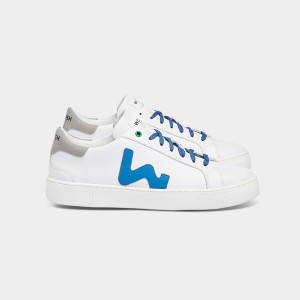 Man Sneakers SNIK WHITE SKY White MAN