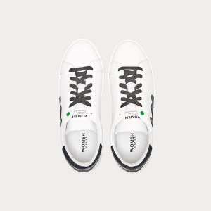 Sneakers Womsh Man Sneakers SNIK WHITE BLACK S190254