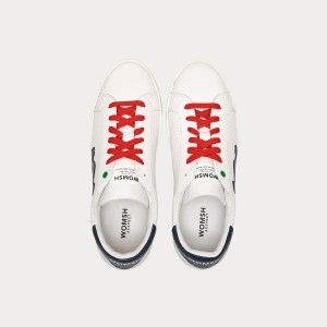 Sneakers Womsh Man Sneakers SNIK WHITE BLU S190255
