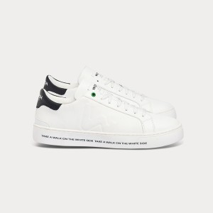 Man Sneakers SNIK WHITE GRAPHIC White MAN