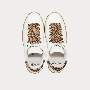 Sneakers Womsh Woman Sneakers SNIK WHITE LEOPARD S290203