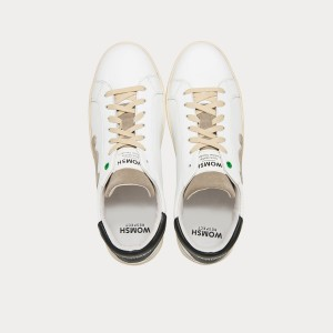 Sneakers Womsh Man Sneakers SNIK WHITE BLACK S290251