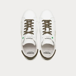 Sneakers Womsh  SNIK WHITE ARMY S290256
