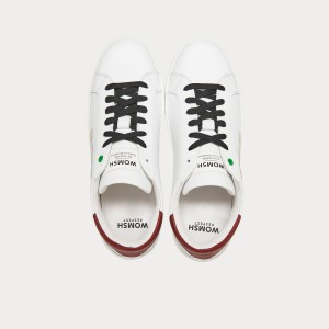Sneakers Womsh Man Sneakers SNIK WHITE RED S290257