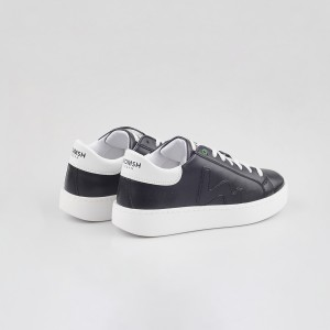 Sneakers Womsh  VEGAN CONCEPT BLACK WHITE VC290932