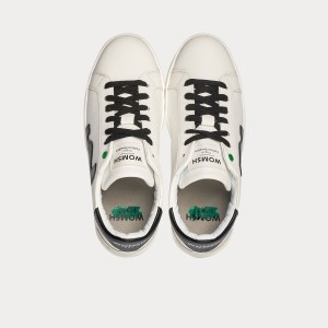 Sneakers Womsh  VEGAN SNIK WHITE BLACK VS190212