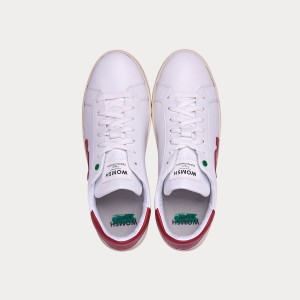 Sneakers Womsh Woman Sneakers VEGAN SNIK WHITE RED VS190213