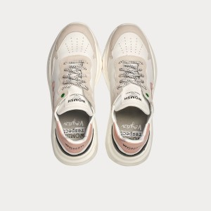Sneakers Womsh  VEGAN WAVE WHITE ROSE VW190819