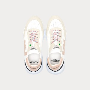 Sneakers Womsh Woman Sneakers WAVE WHITE ROSE W190802