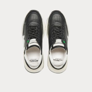Sneakers Womsh  WAVE BLACK WHITE W290801