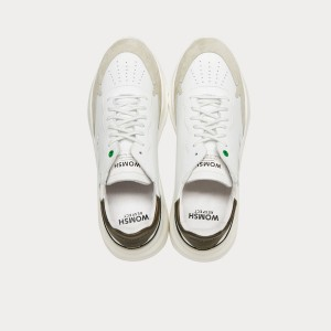 Sneakers Womsh  WAVE WHITE ARMY W290851