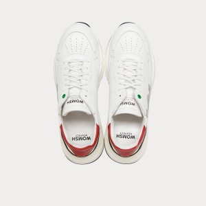 Sneakers Womsh  WAVE WHITE GREY RED W290854