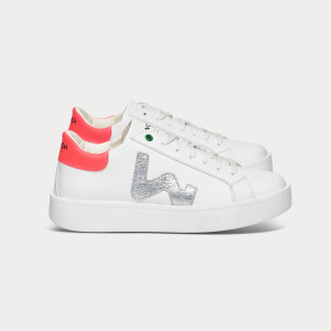 Woman Sneakers CONCEPT WHITE SILVER FUXIA White WOMAN