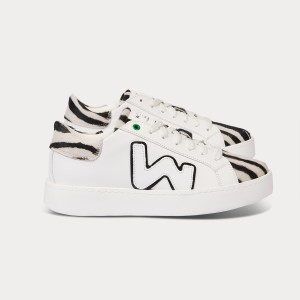Woman Sneakers CONCEPT WHITE ZEBRA White WOMAN