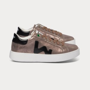 Woman Sneakers CONCEPT BRONZE White WOMAN