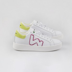 Woman Sneakers CONCEPT WHITE FLUO White WOMAN