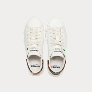 Sneakers Womsh  CONCEPT WHITE SADDLE C290902