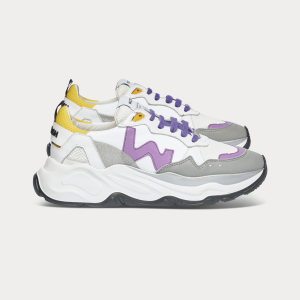 Woman Sneakers FUTURA WHITE LAVENDER White WOMAN
