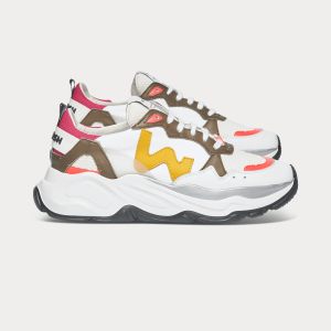 Woman Sneakers FUTURA MULTICOLOR 1 White WOMAN