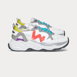 Woman Sneakers FUTURA MULTICOLOR 2 White WOMAN
