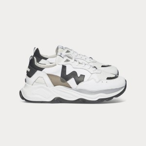 Man Sneakers FUTURA WHITE BLACK White MAN
