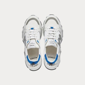 Sneakers Womsh Man Sneakers FUTURA WHITE GREY SKY F201153
